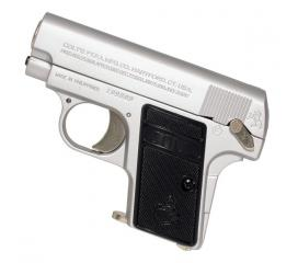 COLT 25 HOP UP pocket silver + 2eme chargeur