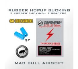 Joints hop-up Mad bull bleu (x2)