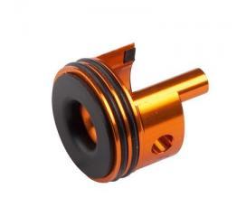 Tête de cylindre aluminium AUG (orange)