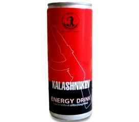 Canette de boisson énergisante Kalashnikov