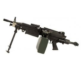 M249 Paratrooper A&K AEG 1,4j amobox 2500cps Pack Complet