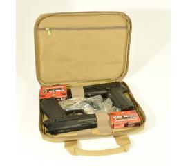 Housse Swiss Arms beige pour 2 pistolets
