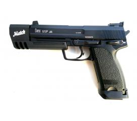 Heckler & Koch USP 45 Match gaz metal 1 joule