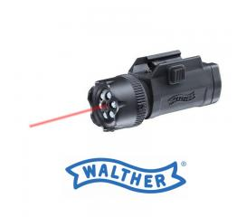 Laser avec Lampe 6 leds class 2 walther