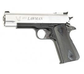 Sti lawman GNB bicolore (argent/noir) 0,6j
