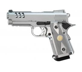 Hi-capa 3.8 Gaz blowback chromé 1J