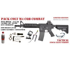 Pack Colt M4 CQB full metal AEG limited