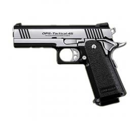Hi-capa 4.3 custom dual stainless Gaz blowback Marui