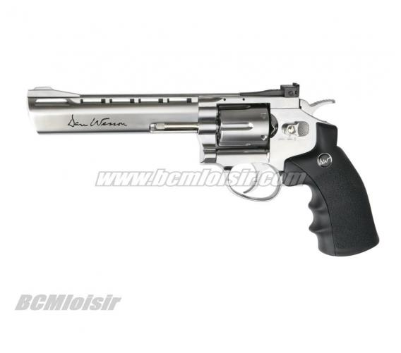 Dan Wesson revolver chrome 6''