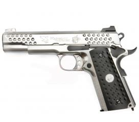 Knighthawk 1911 silver KAC Gaz blowback full metal WE