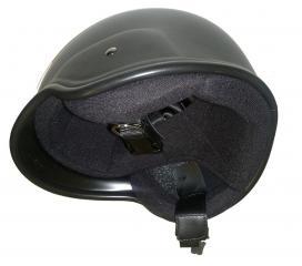 Casque de protection capitonné Miltec noir SWAT