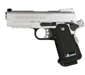 Hi-capa 3.8 baby version D full metal chrome GBB WE