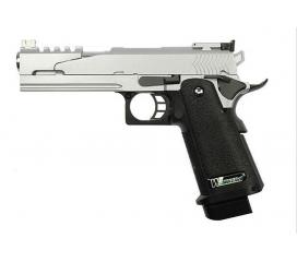 Hi-capa 5.1 version B full metal chrome GBB WE