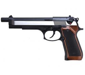 M92 long version dual tone wood grip GBB WE