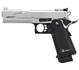 Hi-capa 5.1 version A full metal chrome GBB WE