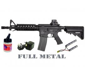 Pack Colt M4 CQB full metal AEG limited Close Quarter Battle