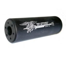 SS-100 Sound suppressor Navy Seals silencieux metal 14mm Anti Horaire