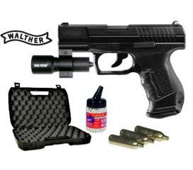 Pack light P99 walther DAO blowback co2 metal slide