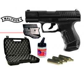 Pack Laser P99 walther DAO blowback co2 metal slide