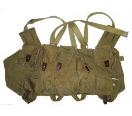 Veritable veste abdominale porte chargeurs tan originale