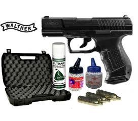 Pack complet P99 walther DAO blowback co2 metal slide