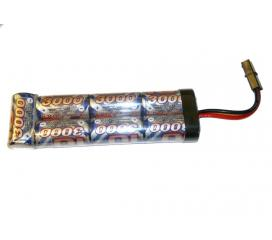 Batterie 8,4v 3000mah intellect haute performance type large