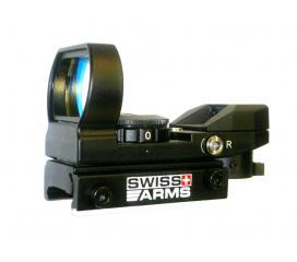 Visée point rouge Swiss Arms multi reticules full metal