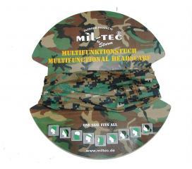 Tour de cou multifonctions digital woodland Headgear Miltec