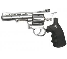 Dan Wesson chromé 4''