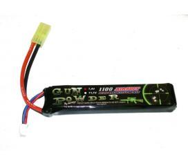 Batterie LI-PO, 7,4v Mini Stick 1100 mah