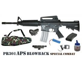 MEGA Pack M4 Special Combat Nimh PR301 APS blowback AEG