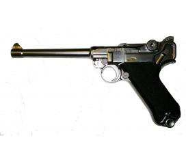 Luger P08 M full metal chrome GBB WE