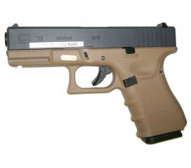 G19 Generation IV Tan version B metal slide GBB WE