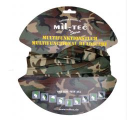 Tour de cou multifonctions woodland Headgear Miltec