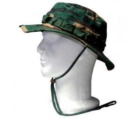 Chapeau de brousse Camo Woodland