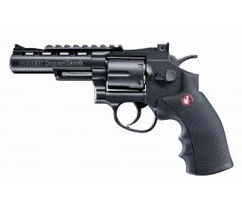 "Ruger super hawk 4"" full metal noir avec Balles CO2"