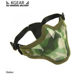 Masque bas de visage grillagé camo anti condensation Stalker