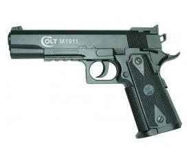 Colt 1911 Police Match Culasse fixe CO2 6mm 1 joule