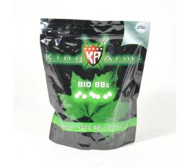 Billes King Arms precision sachet 1KG 0,25 gr bio