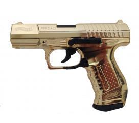 P99 Walther DAO Gold Custom Metal blowback CO2 1,9 J