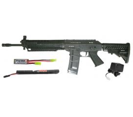 Sig Sauer 556 Holo full metal Mosfet Pack Complet AEG