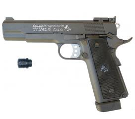 Colt 1911 MK IV full metal CO2 blowback 466 fps + Adaptateur Silencieux