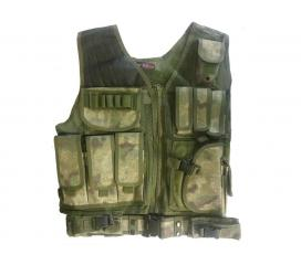 Veste tactical A Tacs FG 8 poches holster ceinturon