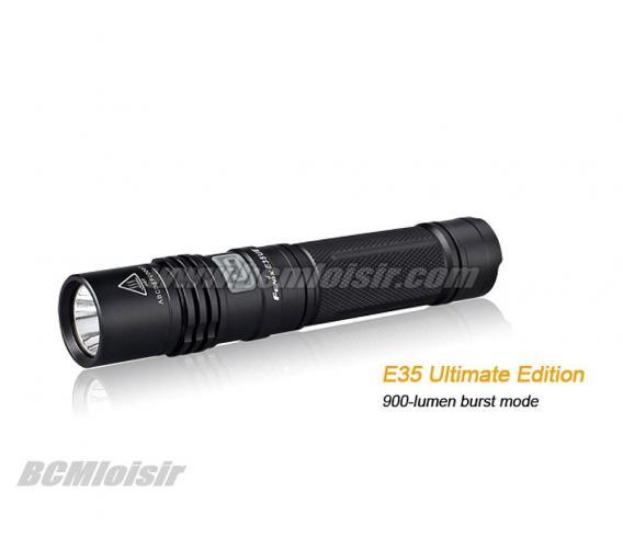 Lampe led 900 Lumens Fenix E35 Ultimate Edition
