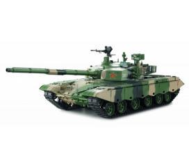 Char ZTZ 99 MBT Char RC 1/16 2,4 ghz Complet Bruit et Fumée