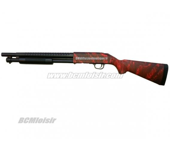 Fusil à pompe Full Stock Spring Red Custom limited