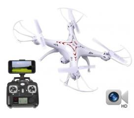 Quadrocoptère Spyrit FPV avec micro‐caméra HD