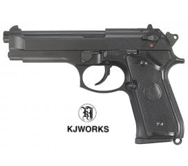 M9 Super Real GBB Heavy Weight Noir KJ Works