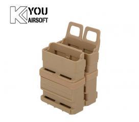 Porte Chargeur Gen 2 Tan FastMag Molle pour M4 Famas AK