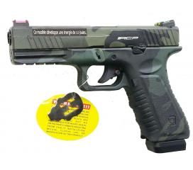 S17 ACP 601 Black Multi Cam Metal Slide Blowback CO2